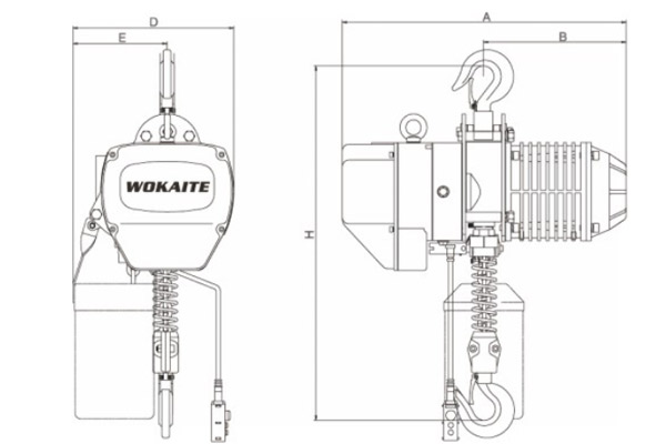 0.3-5 Ton Electric Chain Hoist For Sale
