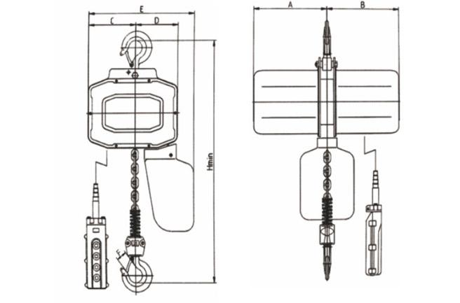 single phase hoist,single-phase hoist